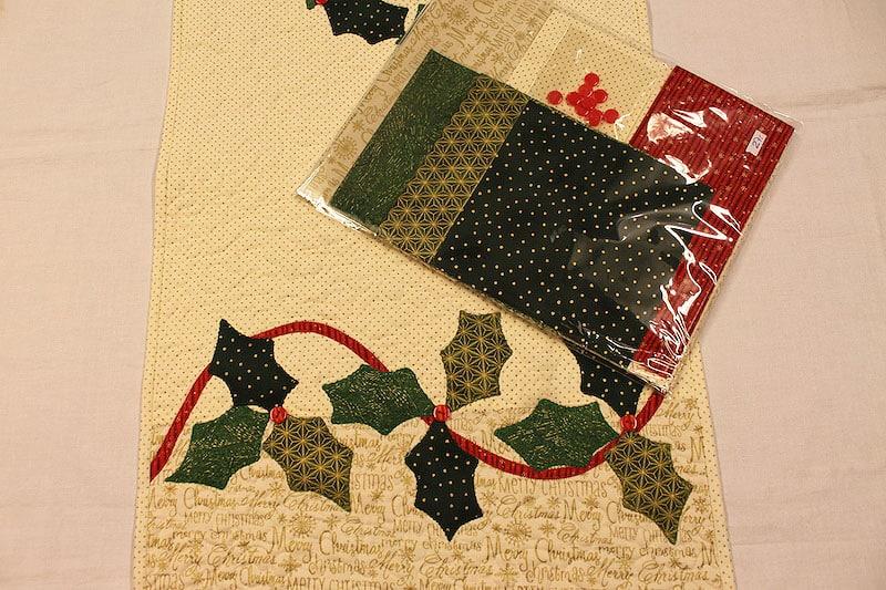Camino de mesa blanca navidad - Camino mesa patchwork ...